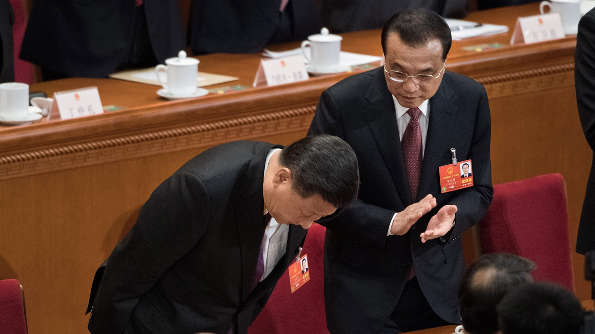 陽光衛視董事陳平呼籲習近平,若明白,便是成英明領袖,不明白,那可能就是萬世罵名。(NICOLAS ASFOURI/AFP/Getty Images)