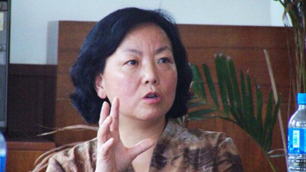 圖為中國武漢作家方方(微博圖片)