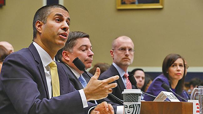 共和黨籍的美國聯邦通訊委員會(FCC)委員卡爾(Brendan Carr)在推特連續發出9條推文,稱讚華春瑩的邀請「太棒了」。(Getty Images)
