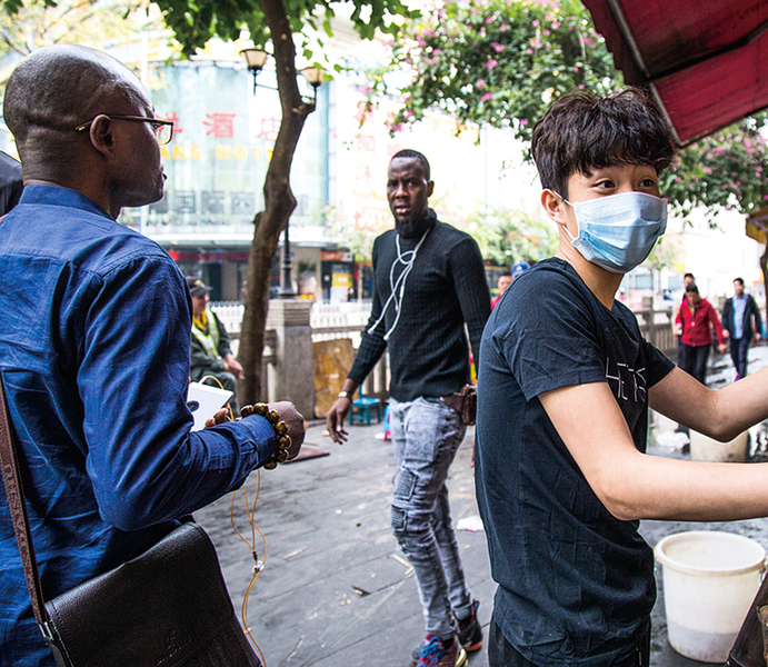 穗企:廣州逾千名黑人染疫