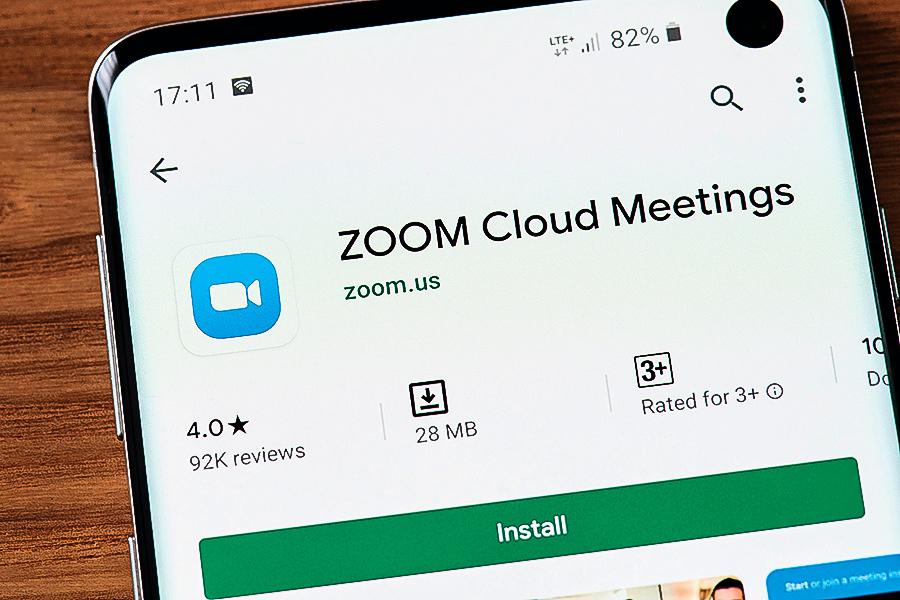 Zoom資安疑慮 股東提訴 谷歌禁用