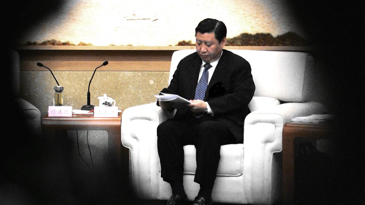 港媒稱,習近平曾親筆下條子,力挺外交層面宣示中共的強硬立場。( Guang Niu/Getty Images)