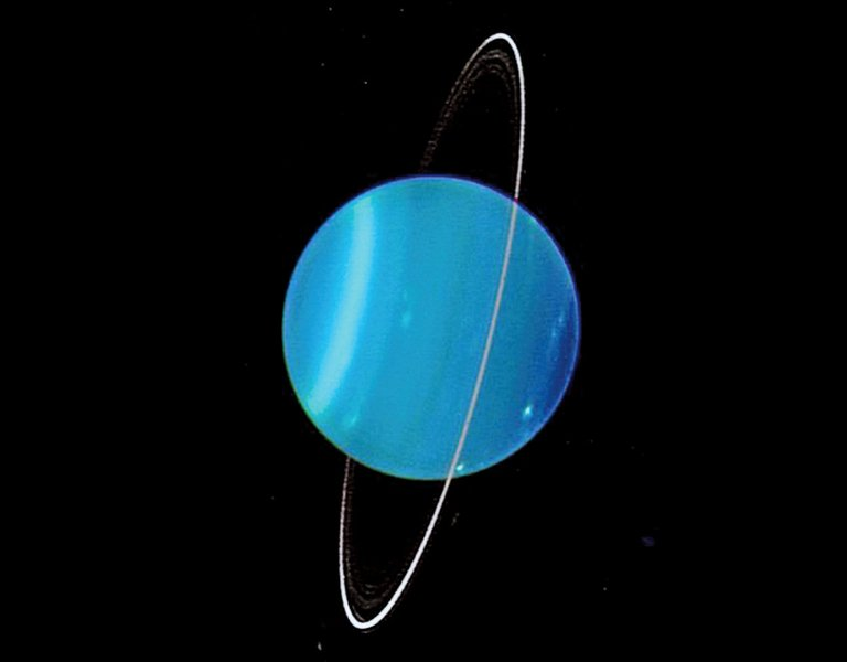地球大小的「冰球」 撞上天王星令其「傾倒」