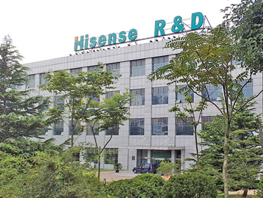 海信集團研發中心。(Hupeixian/維基百科)