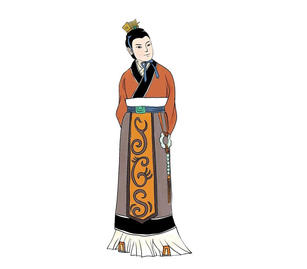 劉如意,漢高祖劉邦與寵妃戚夫人所生之子,受封趙王。被嫡母呂后謀殺,諡號稱趙隱王。