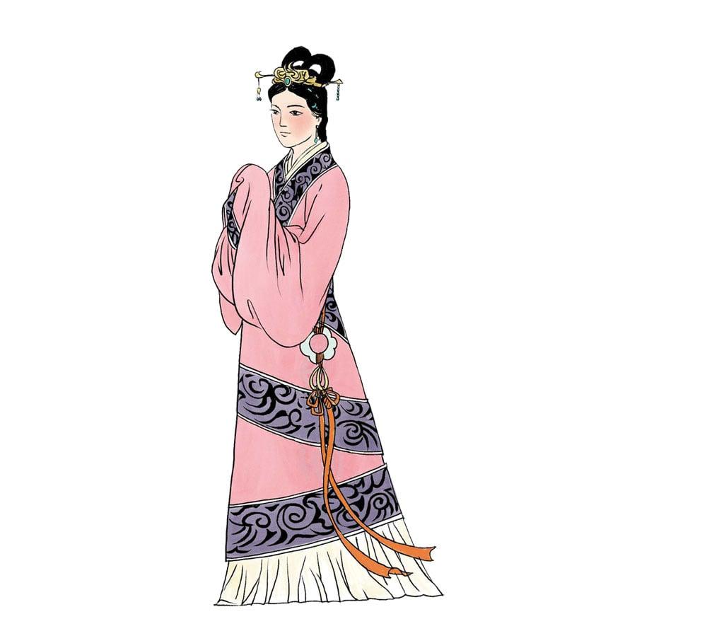 戚夫人,漢高祖劉邦寵妃,趙王劉如意生母。劉邦死後,戚夫人被呂后虐殺,死狀甚慘。