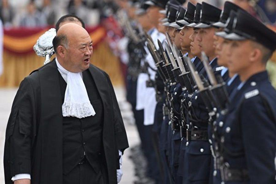 香港終審法院首席法官馬道立為捍衛司法獨立,與中共進行持續抗衡。圖為馬道立資料照。(黃信真/大紀元)
