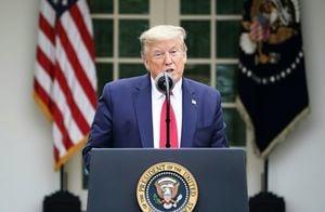 特朗普宣佈暫停向WHO注資 美組織籲停中共WHO會籍