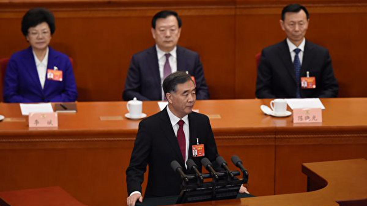 自2020年以來,汪洋已經多次就「脫貧攻堅」召開會議或調研。示意圖(WANG ZHAO/AFP/Getty Images)
