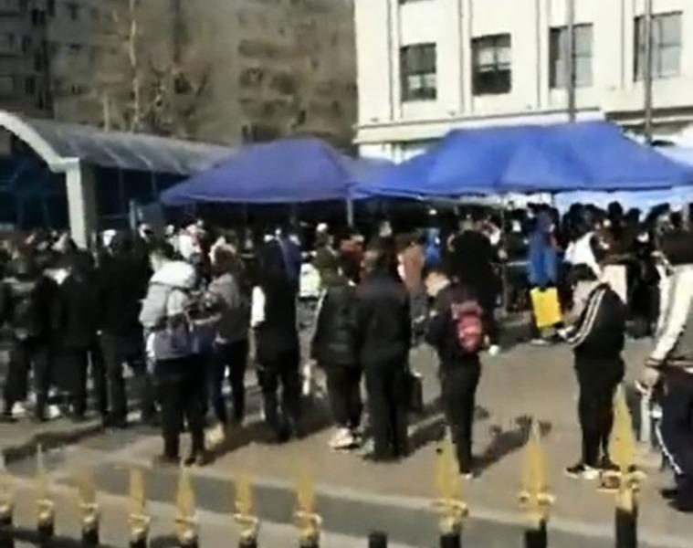 哈爾濱急診數千人排隊掛號  二次爆發真的來了?
