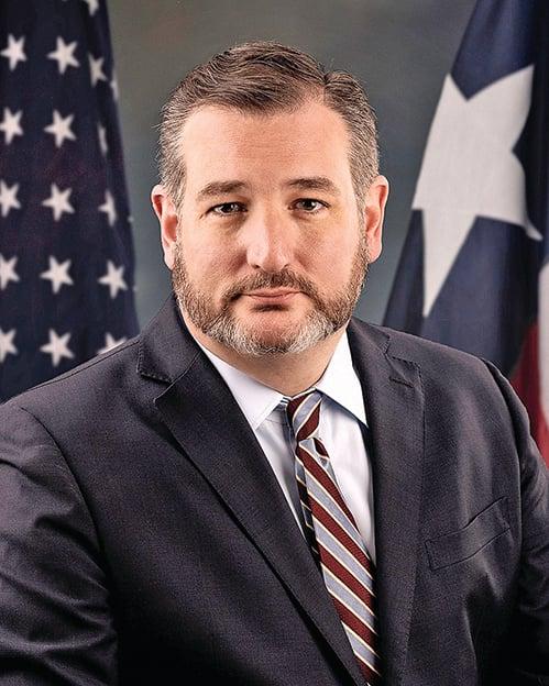 美國共和黨籍參議員克魯茲提出法案,制裁隱匿疫情、打壓醫護人員的中共官員。(AFP)