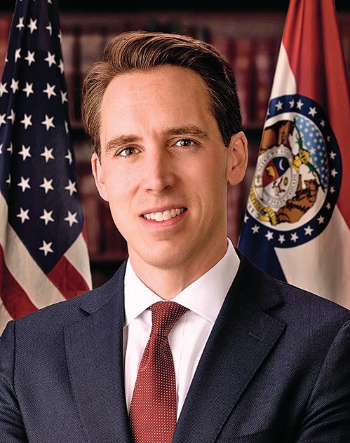 美國共和黨籍參議員霍利提出法案,制裁隱匿疫情、打壓醫護人員的中共官員。(AFP)