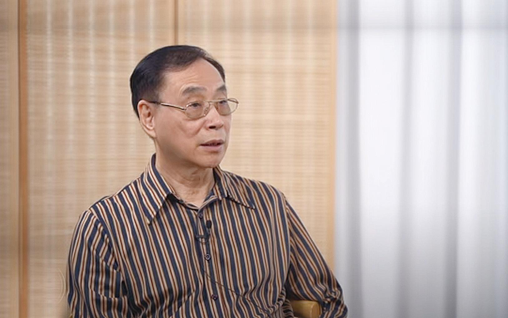 前香港立法局議員薛浩然。(採訪影片截圖)