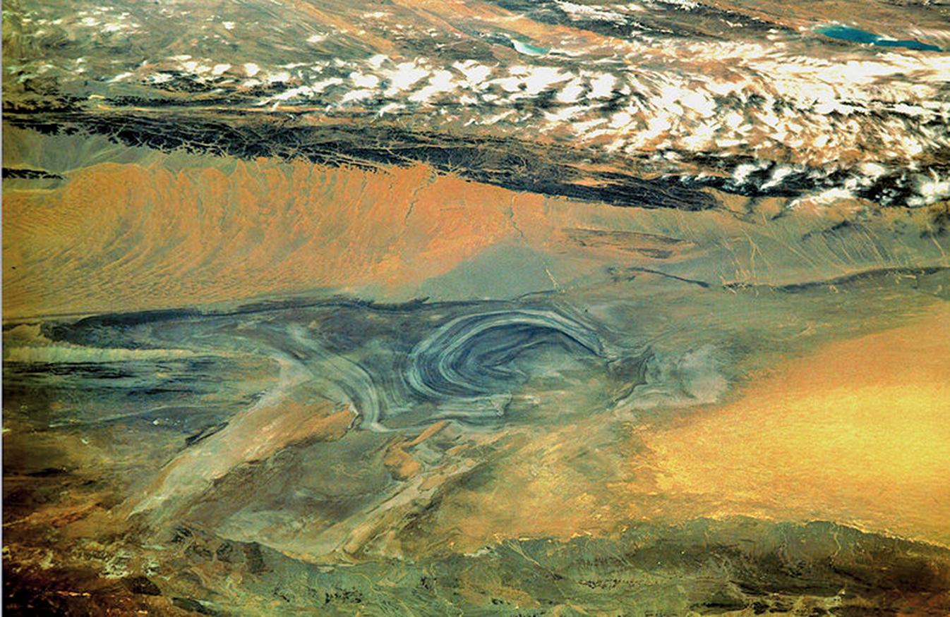 新疆羅布泊沙漠(公有領域)