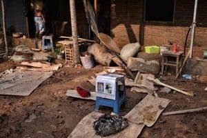 河北邢台官方新聞發布會誇海口 被災民揭醜