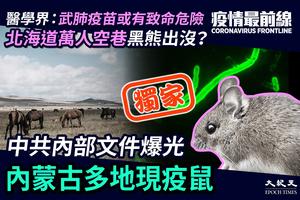 【4.17疫情最前線】(獨家)中共內部文件爆光 內蒙古多地現疫鼠
