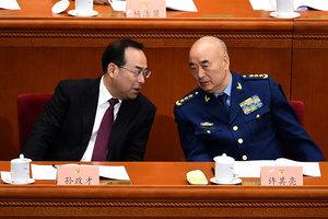 中共軍委將大換血 傳下屆常務副主席已定
