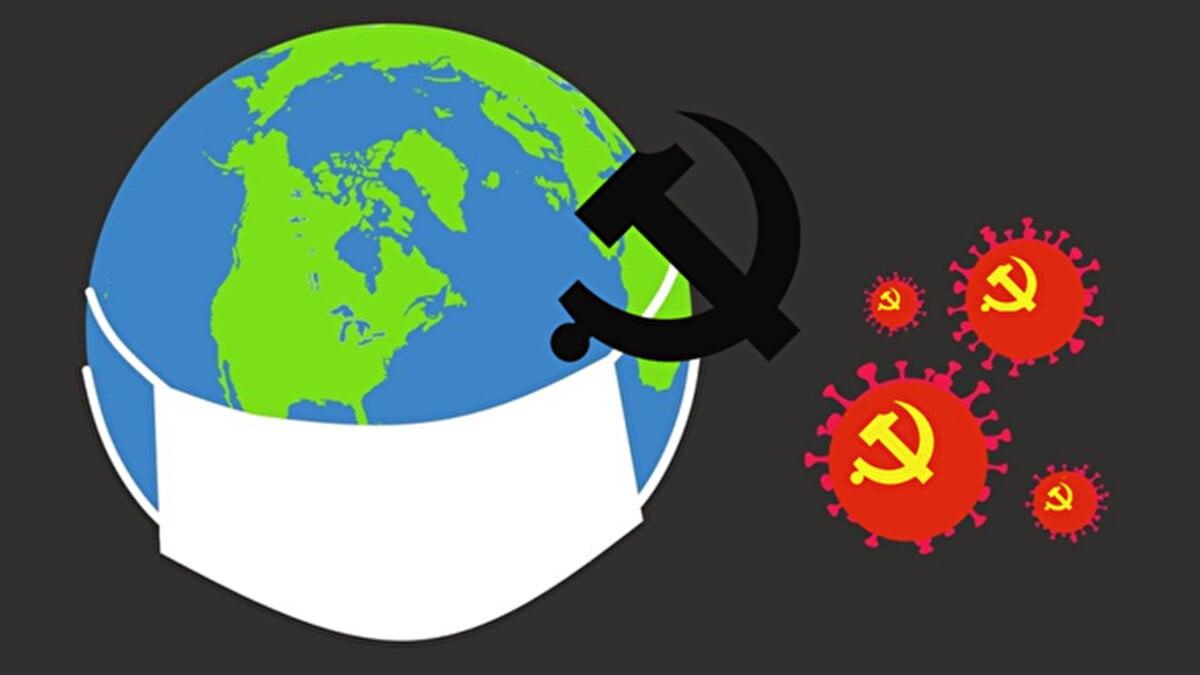 中共輸出病毒,國際社會群情激憤,紛紛要求向中共索賠。(明慧網)