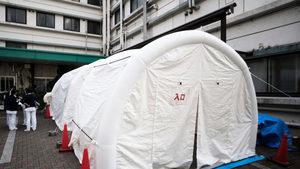 中共肺炎在南韓2個月首度跌至個位數 日抗疫病床告急
