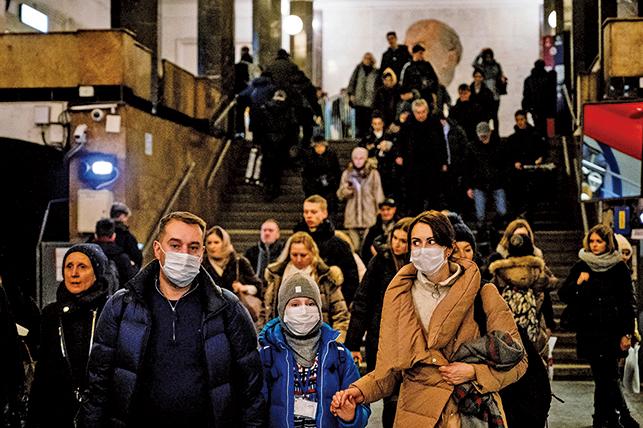 【全球疫情重點看】俄羅斯單日新增病例近5,000例