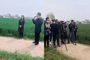 【現場影片】官員要農民有政治責任 網民罵翻