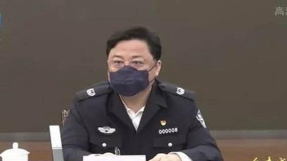 孫力軍在武漢督導疫情期間,多次出現在官方媒體報道中。(影片截圖)
