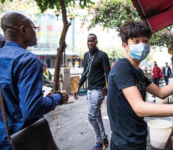 傳廣州給非裔人士拟發放5600元補貼