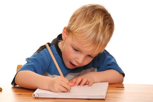 學齡前兒童書寫技能的需求