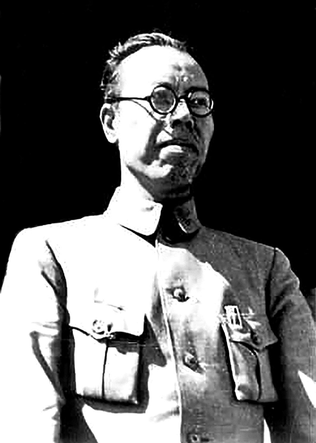 向忠發擔任中共總書記時,背後實際掌權的李立三,圖為1946年時的李立三。