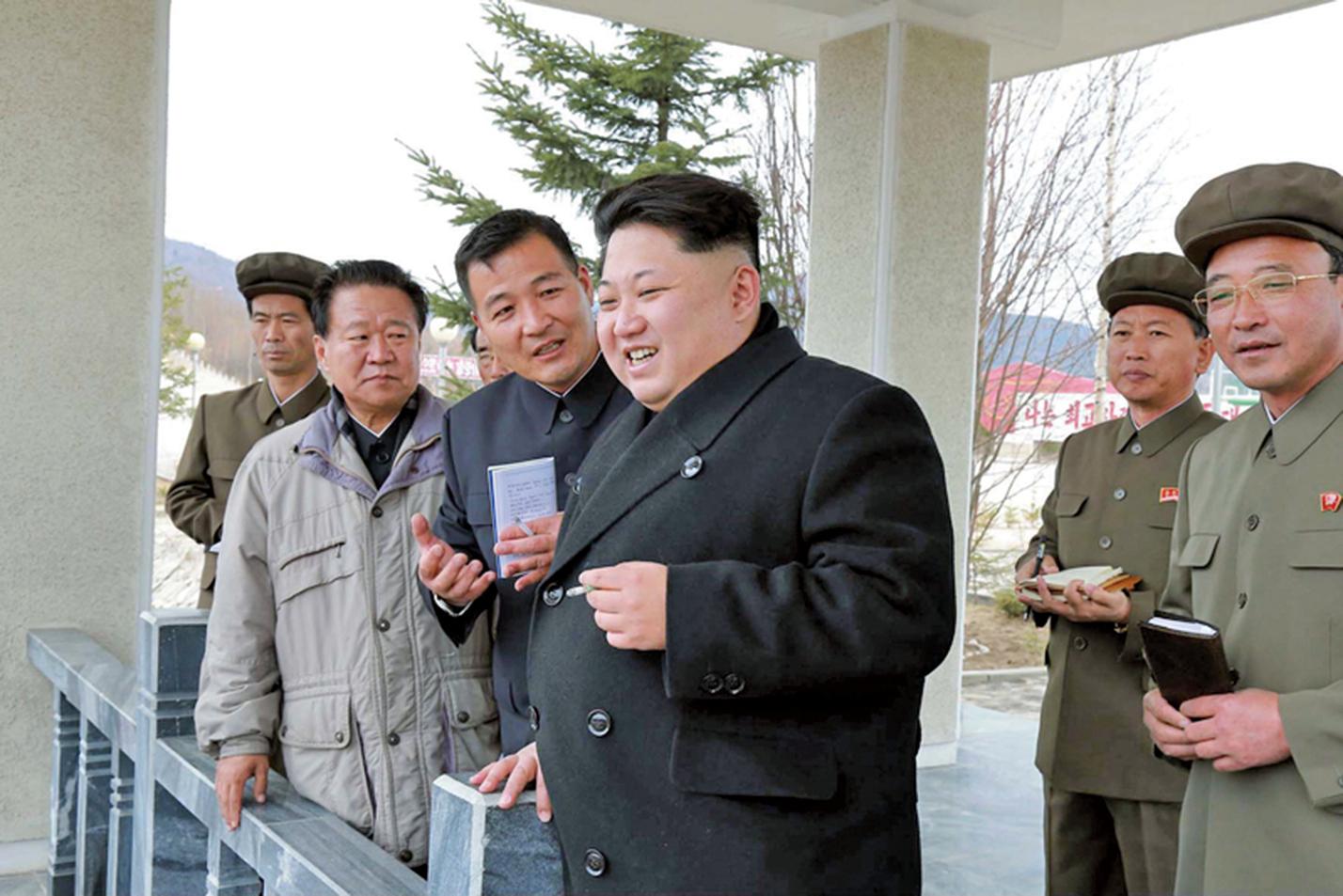 美國媒體報道,北韓領導人金正恩接受心臟手術之後,健康情況非常危險。(AFP)