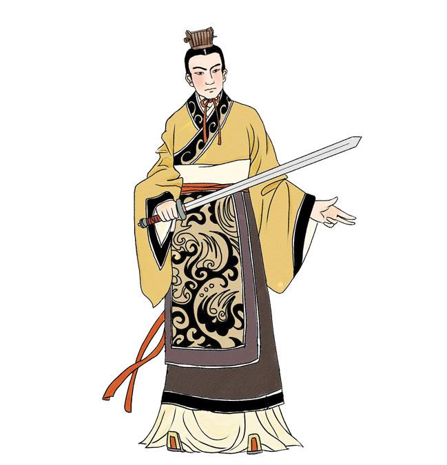 劉章,漢高祖之孫,齊王劉肥之子,呂后時期受封朱虛侯,並被迫娶呂氏一族呂祿的女兒。