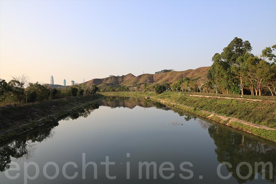 鄉土學社位於上水梧桐河畔華山村旁。(陳仲明/大紀元)