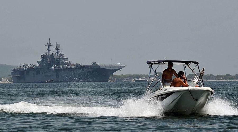 中、馬船隻南海對峙 美軍艦駛入事發水域
