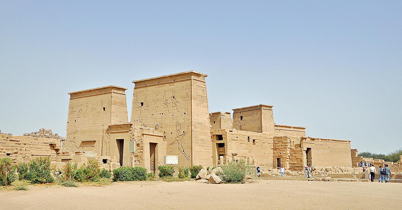圖為埃及菲萊神廟。(Marc Ryckaert/維基百科)