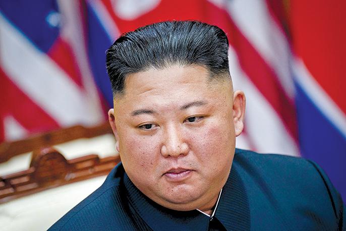 北韓領導人金正恩傳出病危,其接棒人選引發外界諸多揣測。(AFP)