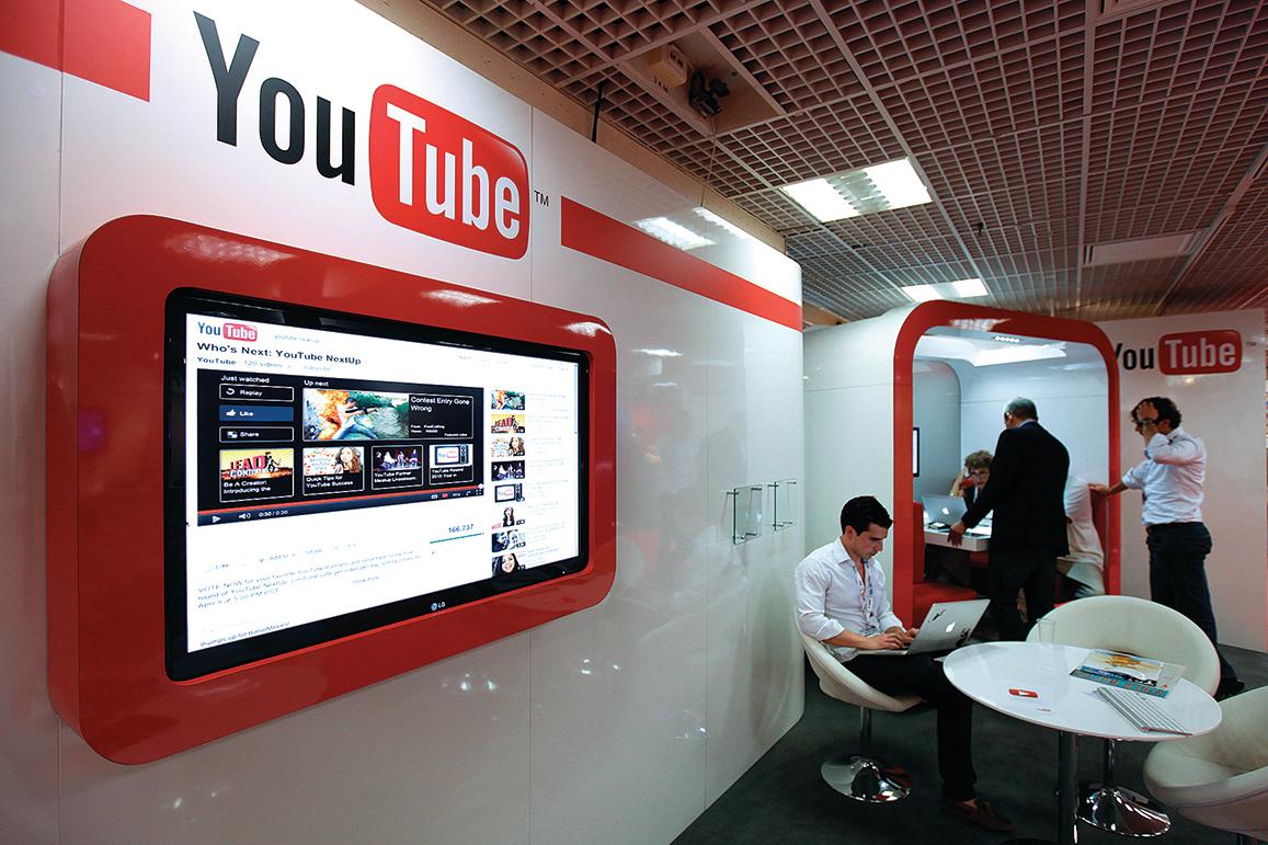 專家認為,YouTube可能針對特定頻道加強審查。 (AFP)