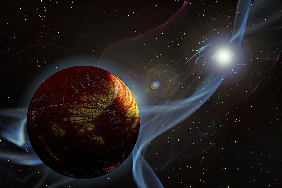科學家首次測到紅矮星上的極光