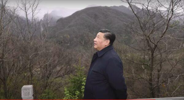 習近平突上秦嶺,原因神秘!(影片截圖)
