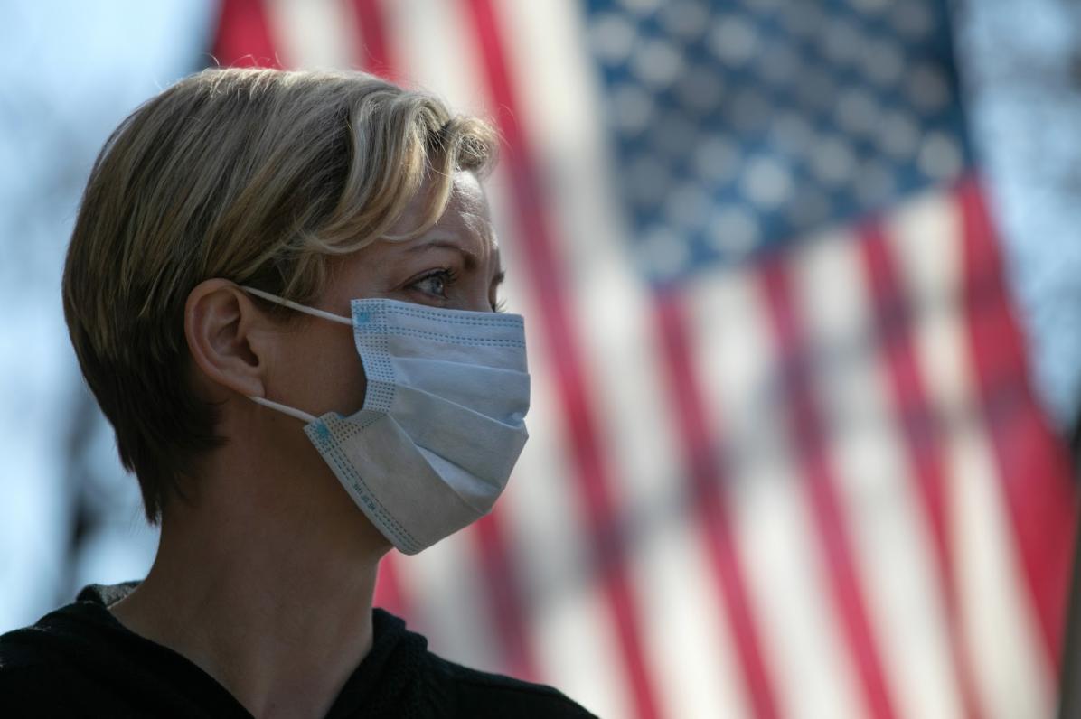 中共病毒已造成美國88萬人染疫,超過5萬人死亡。 (John Moore/Getty Images)