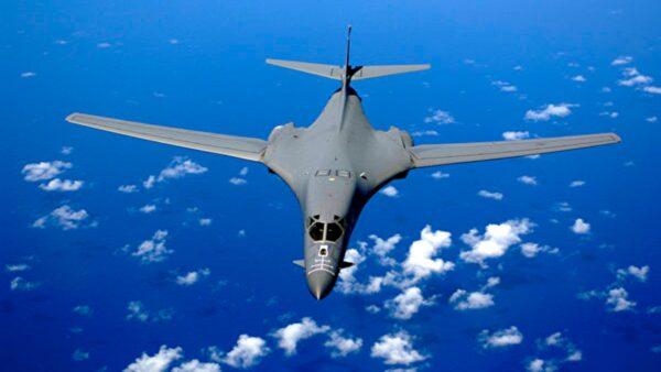 圖為B-1B超音速轟炸機。(維基百科公有領域)