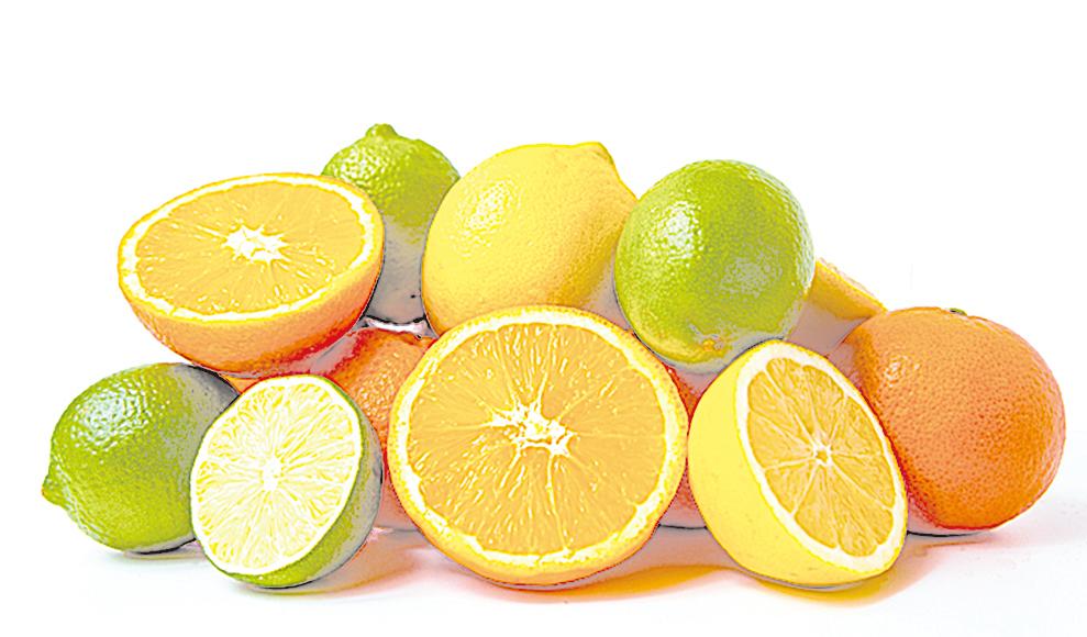 成熟後的柑橘類,依種類的不同,在室溫下就可儲存2~6周。