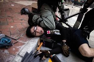 2020年世界新聞攝影大賽 香港反送中獲頭獎