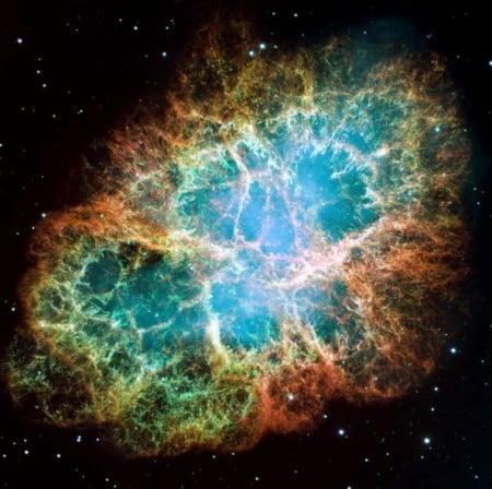 美麗的超新星其實是天體爆炸後的殘骸。(Getty Images)
