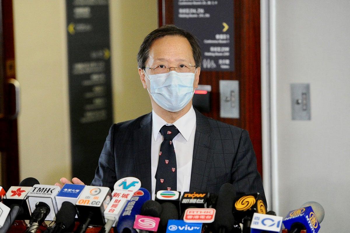 公民黨立法會議員郭家麒指,香港的學校尚未復課,政府豁免跨境學生強制檢疫,明顯是公關手段,避免只豁免商界「唔好睇」。(宋碧龍/大紀元)