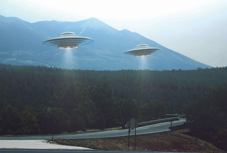 UFO示意圖。(Shutter Stock)