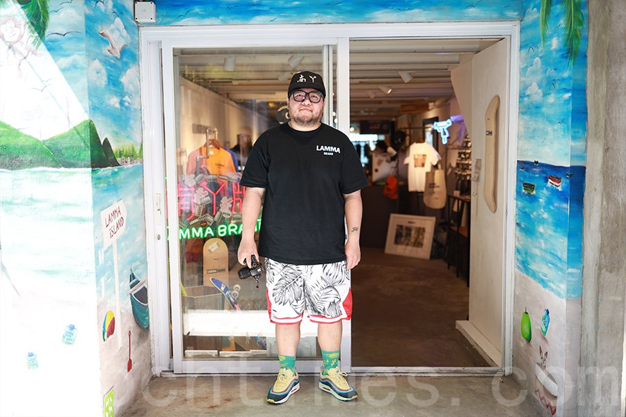 JC在空閒的時間便拿出相機走訪南丫島的不同角落,記錄小島上的點滴。(陳仲明/大紀元)
