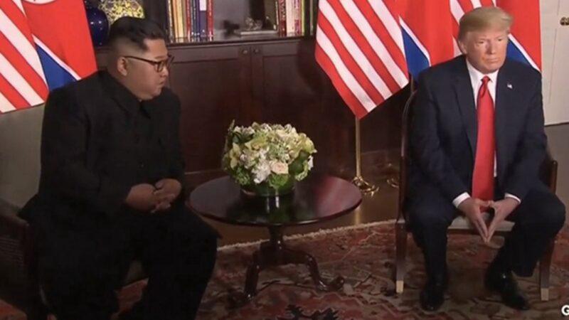 美國總統特朗普27日在白宮表示,他知道金正恩的現狀,但現在不能說,「不久以後你們會聽到」。 (devilla/Getty Images)