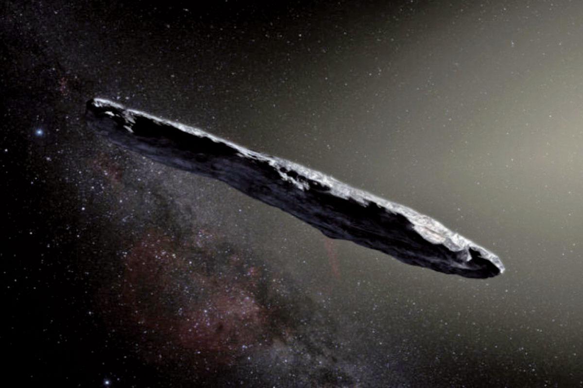 奧陌陌(Oumuamua)於2017年被觀測到。(SO/M. Kornmesser)