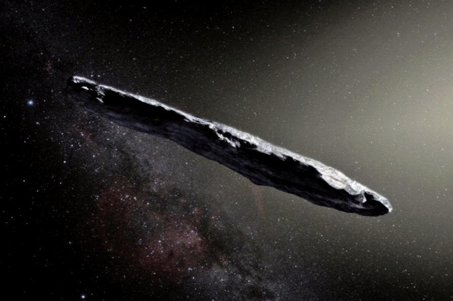 外星來客「奧陌陌」或是「超級地球」的碎片