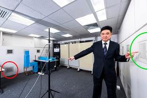 城大研層式通風系統 助減低隔離病房醫護染病風險